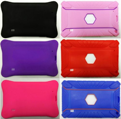 "9"" INCH Heavy Duty SILICONE RUBBER CASE FOR ANDROID TABLET ALLWINNER A13 A23 Q88"